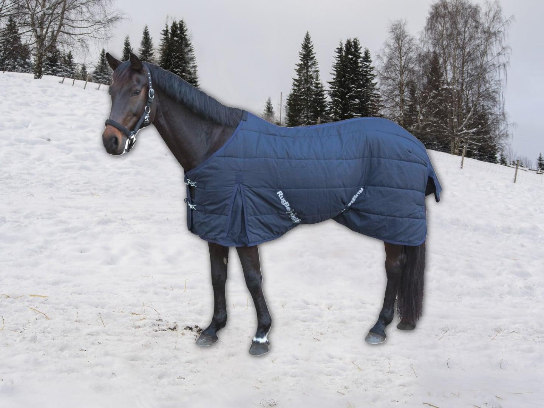 Stalldecke mit Fleece