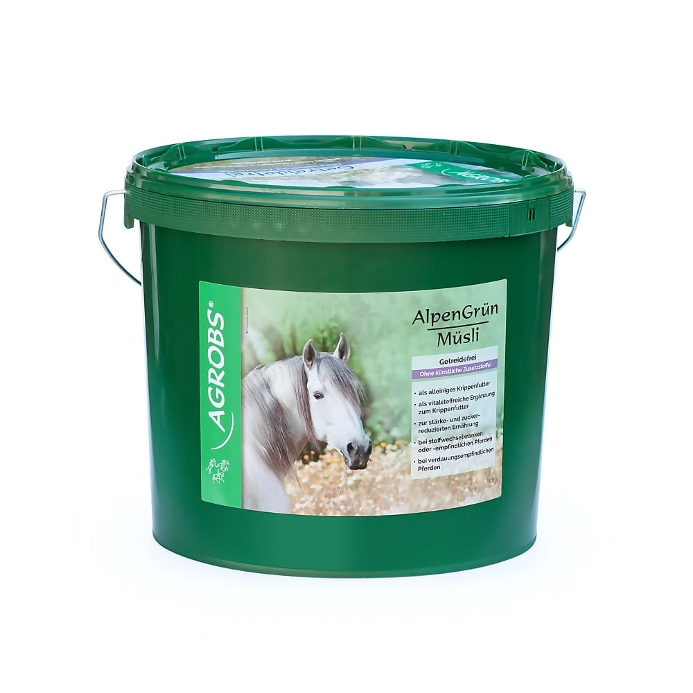 Getreidefreies Pferdefutter